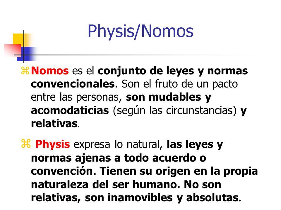 Physis/Nomos