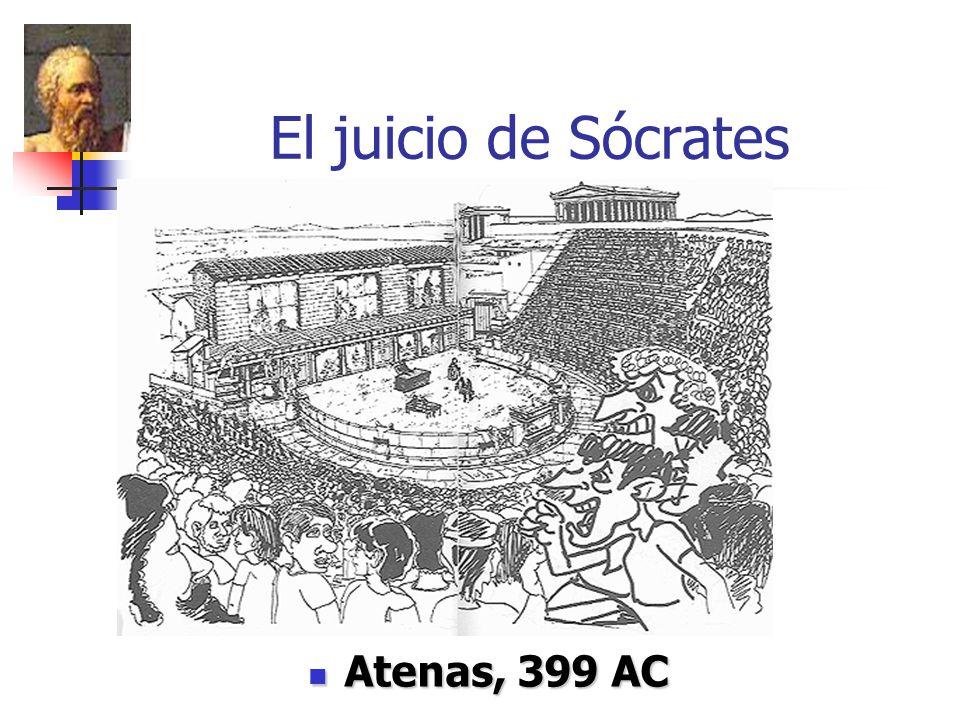 El juicio de Sócrates Atenas, 399 AC