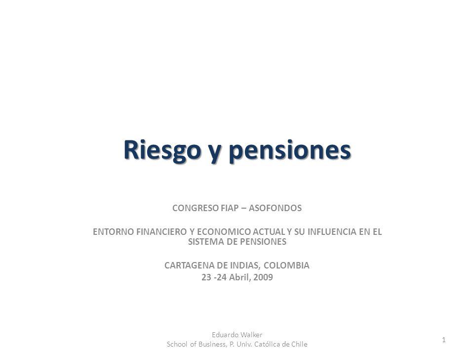 Riesgo y pensiones CONGRESO FIAP – ASOFONDOS