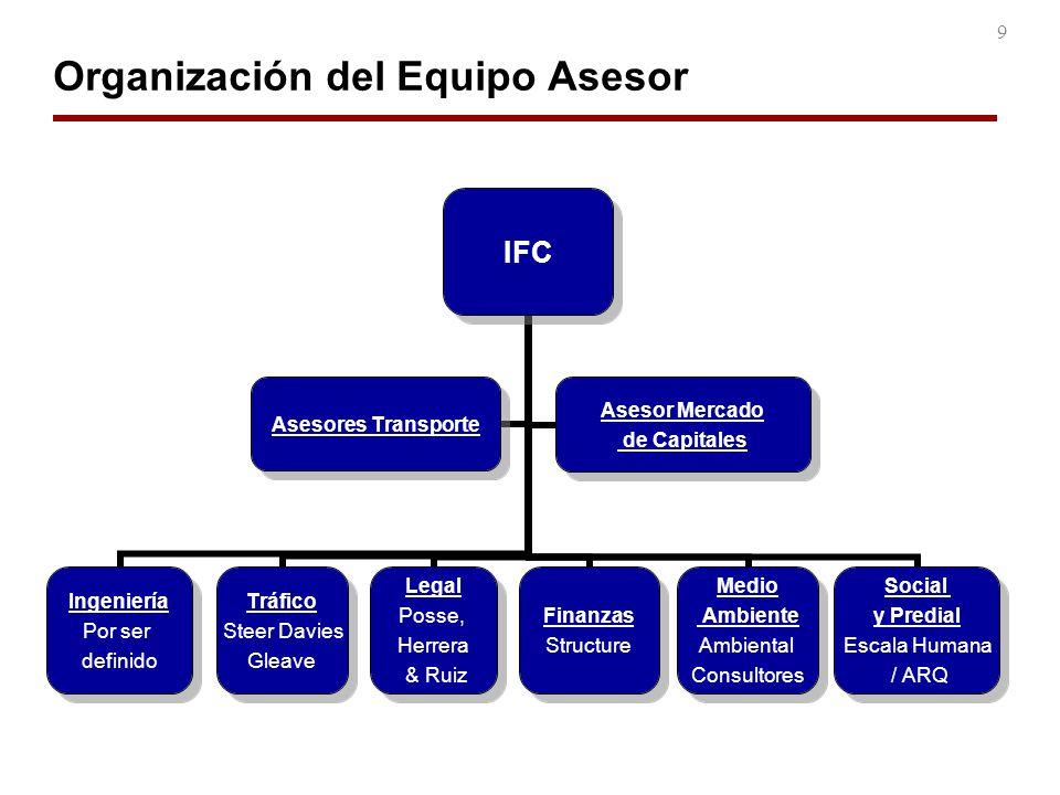 Organización del Equipo Asesor