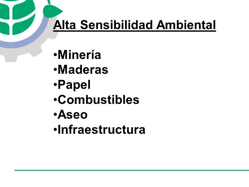 Alta Sensibilidad Ambiental