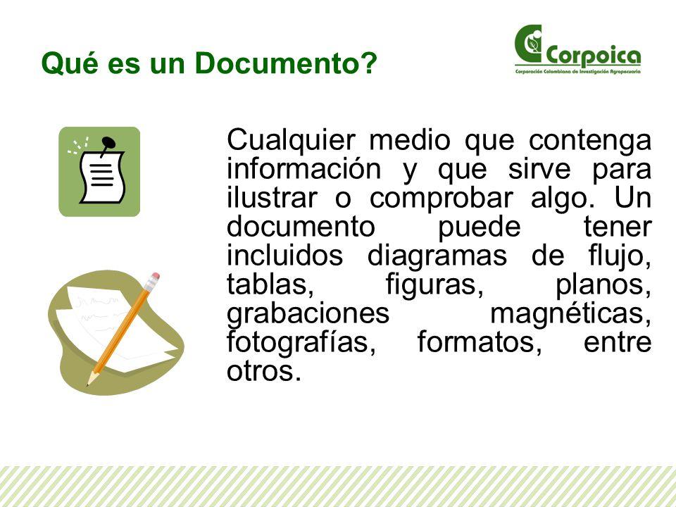 Qué es un Documento