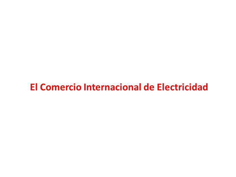 El Comercio Internacional de Electricidad