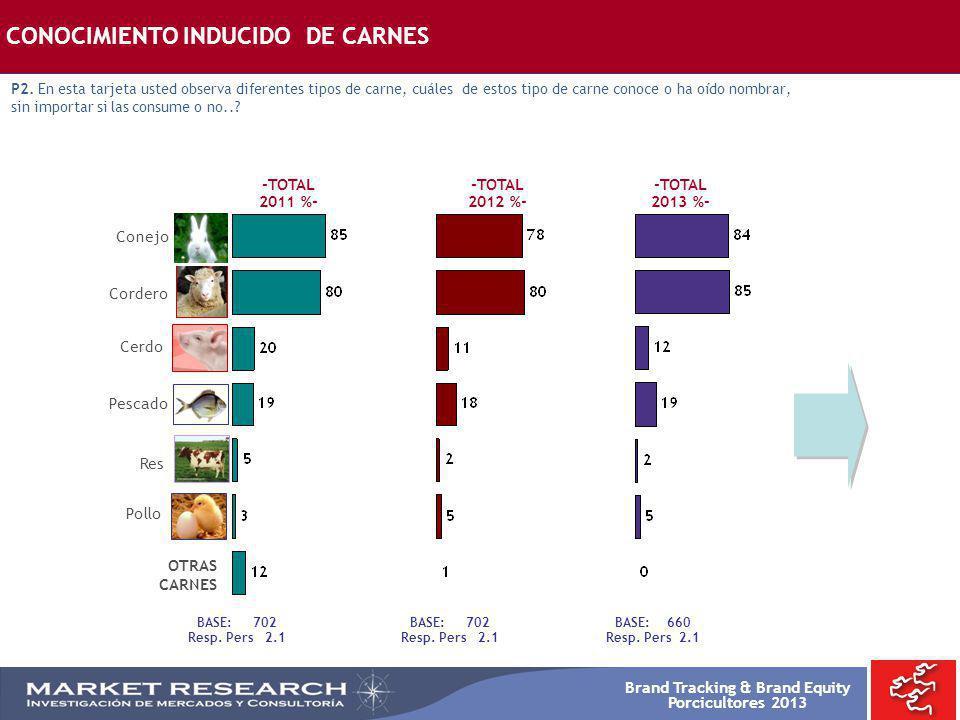 CONOCIMIENTO INDUCIDO DE CARNES