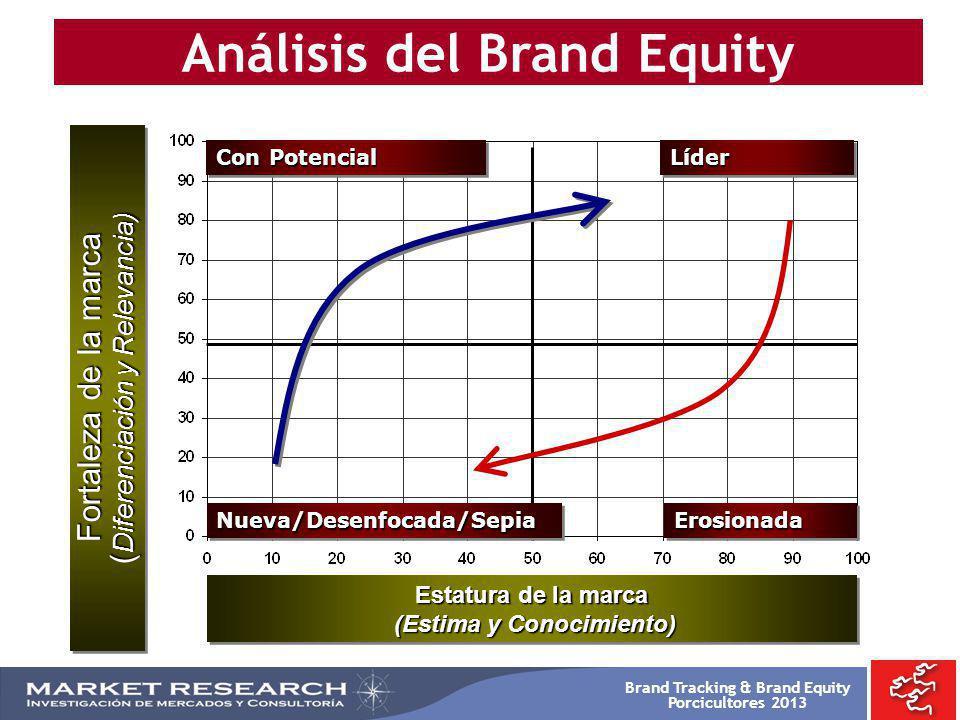 Análisis del Brand Equity (Estima y Conocimiento)