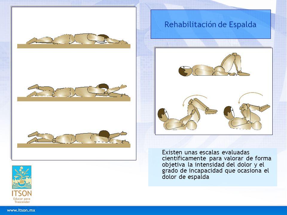Rehabilitación de Espalda