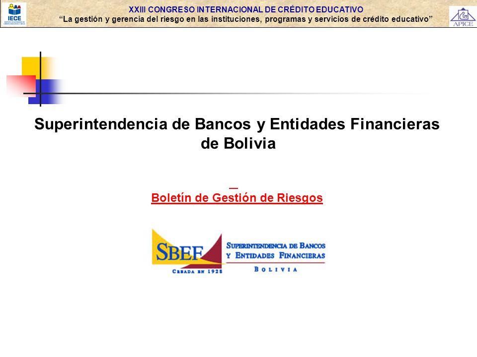 Superintendencia de Bancos y Entidades Financieras de Bolivia