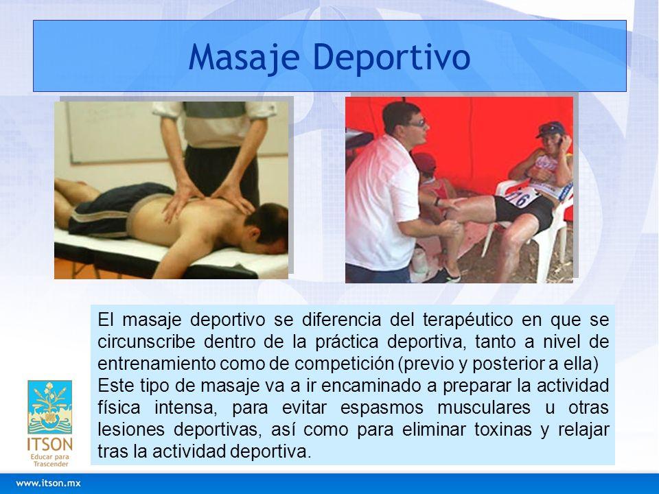 Masaje Deportivo