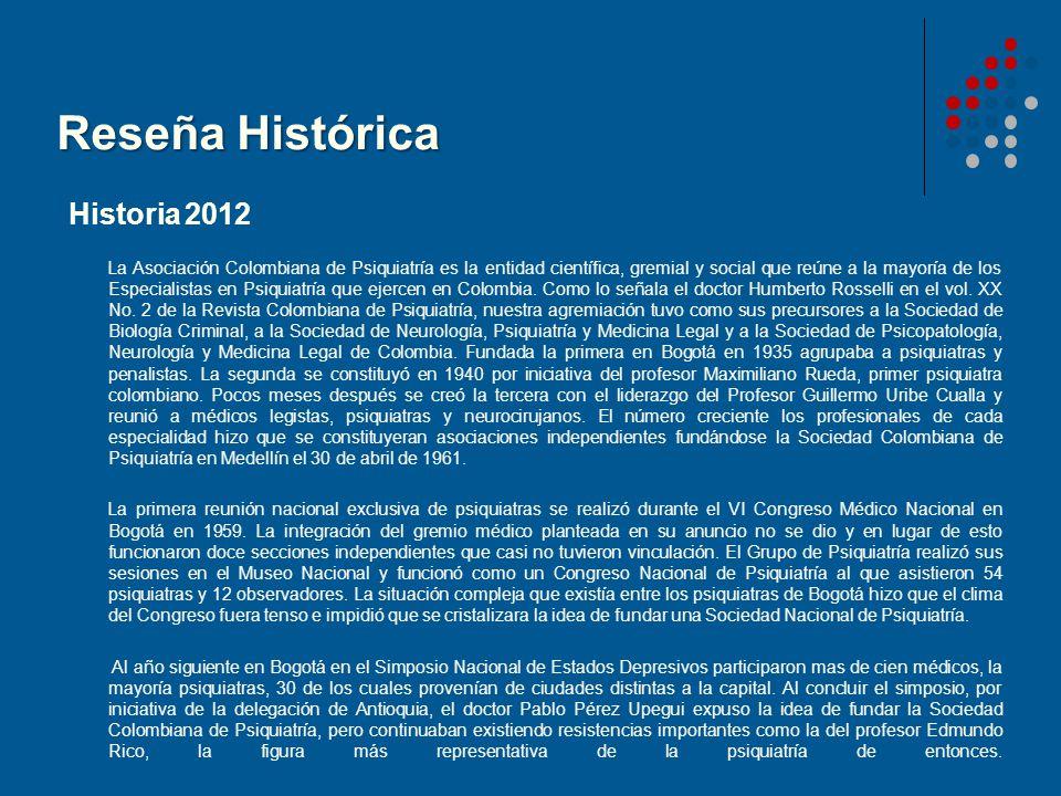 Reseña Histórica Historia 2012