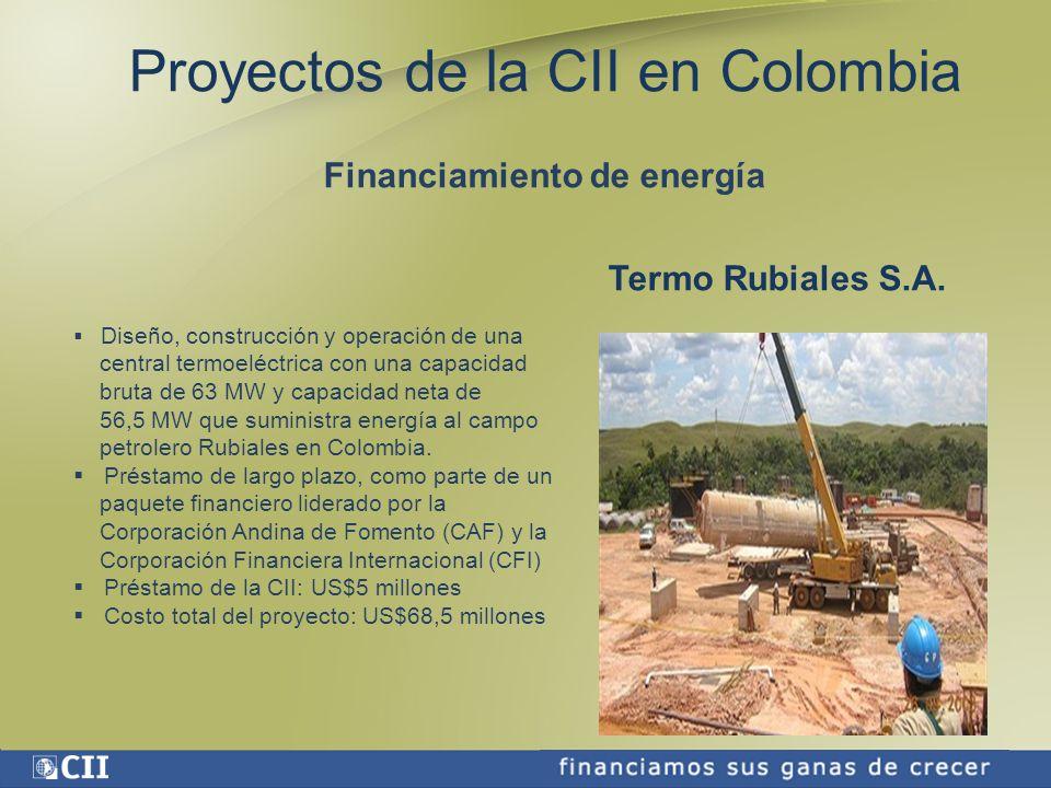 Financiamiento de energía