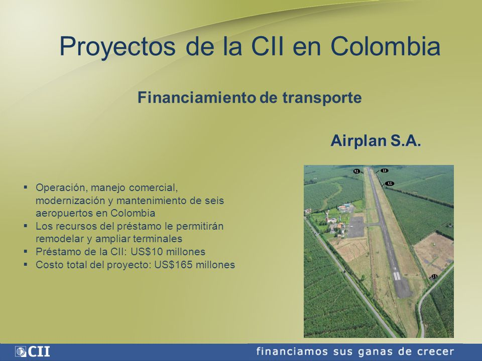 Financiamiento de transporte