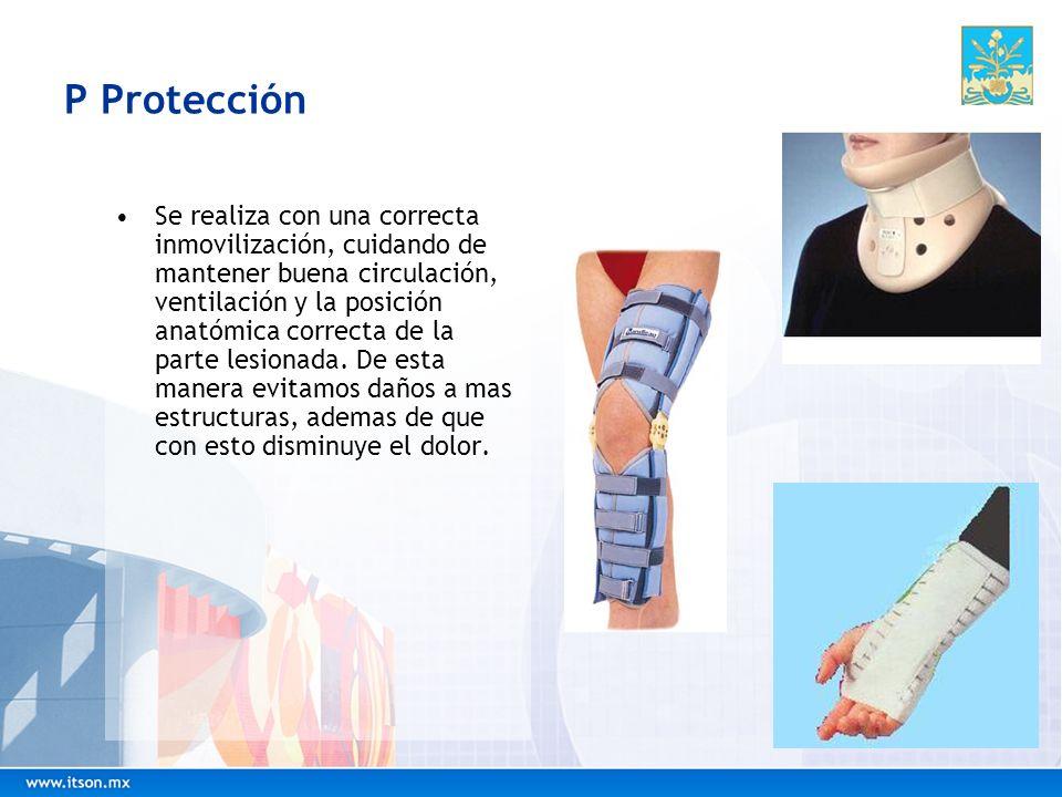 P Protección