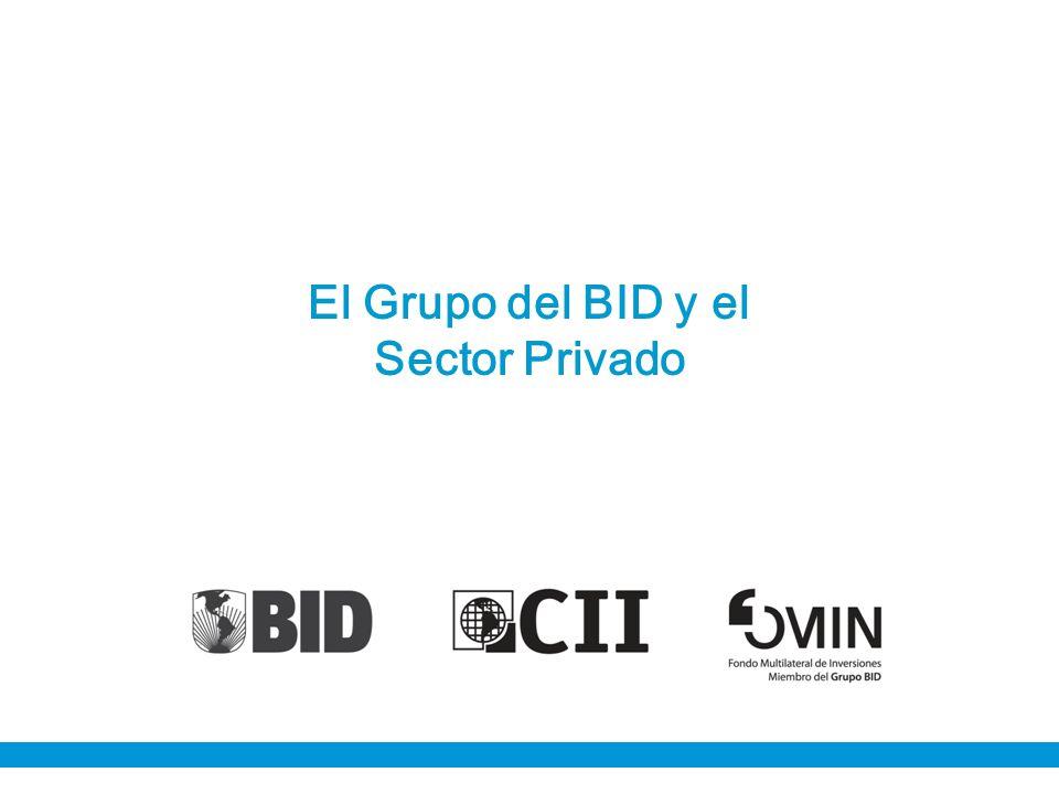 El Grupo del BID y el Sector Privado