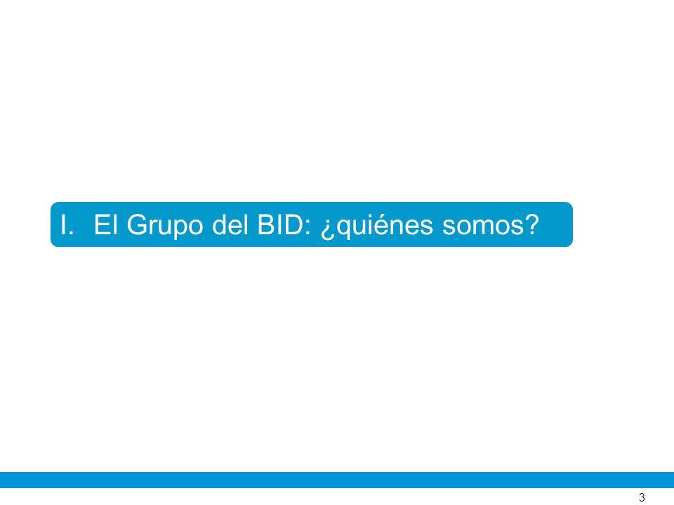 El Grupo del BID: ¿quiénes somos