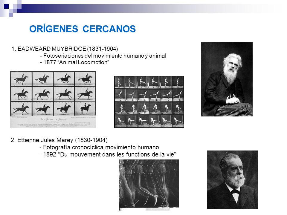 ORÍGENES CERCANOS 2. Ettienne Jules Marey (1830-1904)