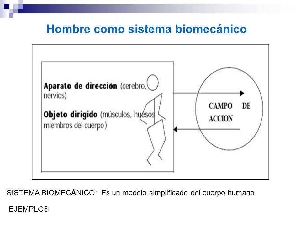 Hombre como sistema biomecánico