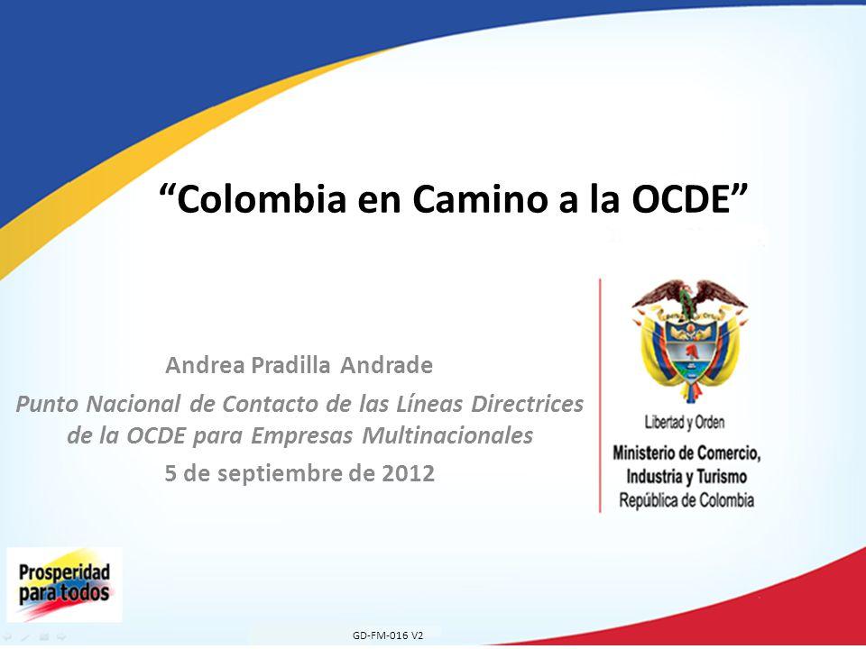 Colombia en Camino a la OCDE