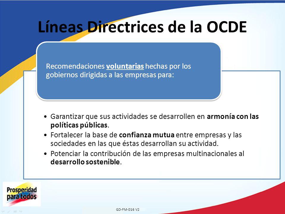 Líneas Directrices de la OCDE