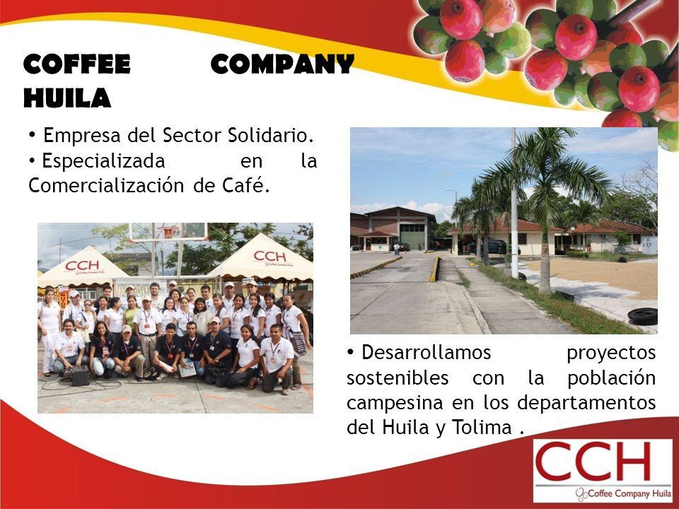 COFFEE COMPANY HUILA Empresa del Sector Solidario.