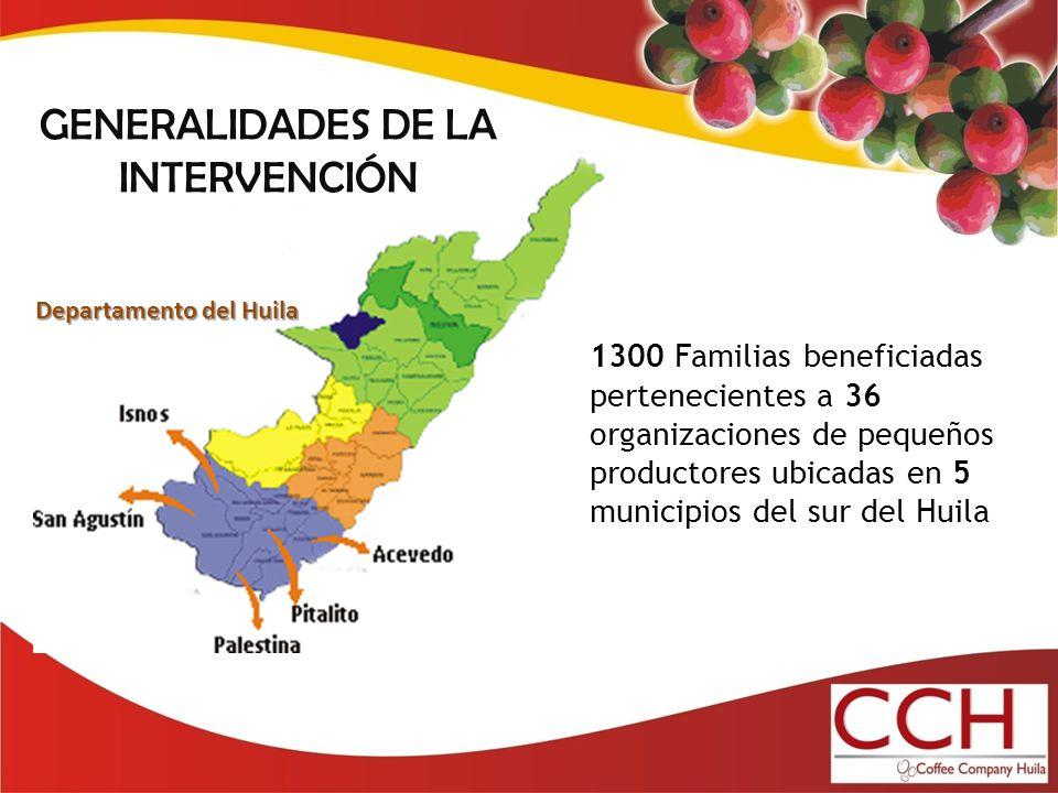 GENERALIDADES DE LA INTERVENCIÓN