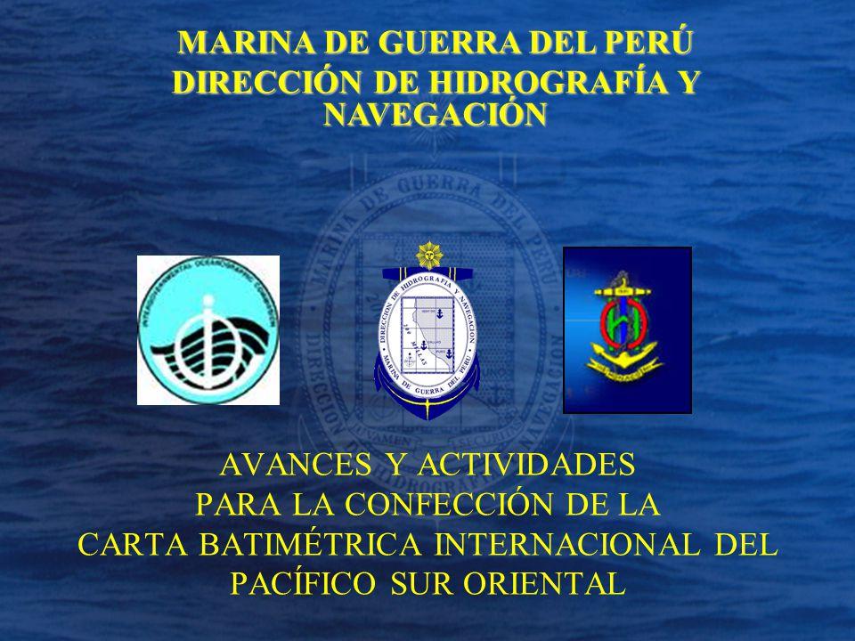 MARINA DE GUERRA DEL PERÚ DIRECCIÓN DE HIDROGRAFÍA Y NAVEGACIÓN