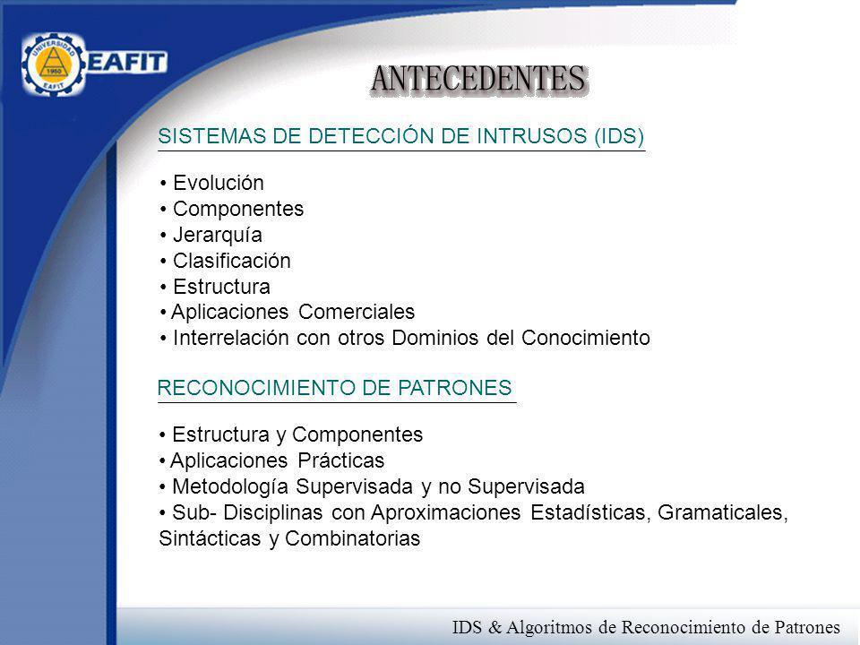 SISTEMAS DE DETECCIÓN DE INTRUSOS (IDS)