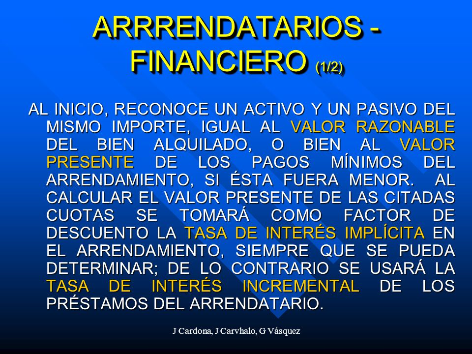 ARRRENDATARIOS - FINANCIERO (1/2)