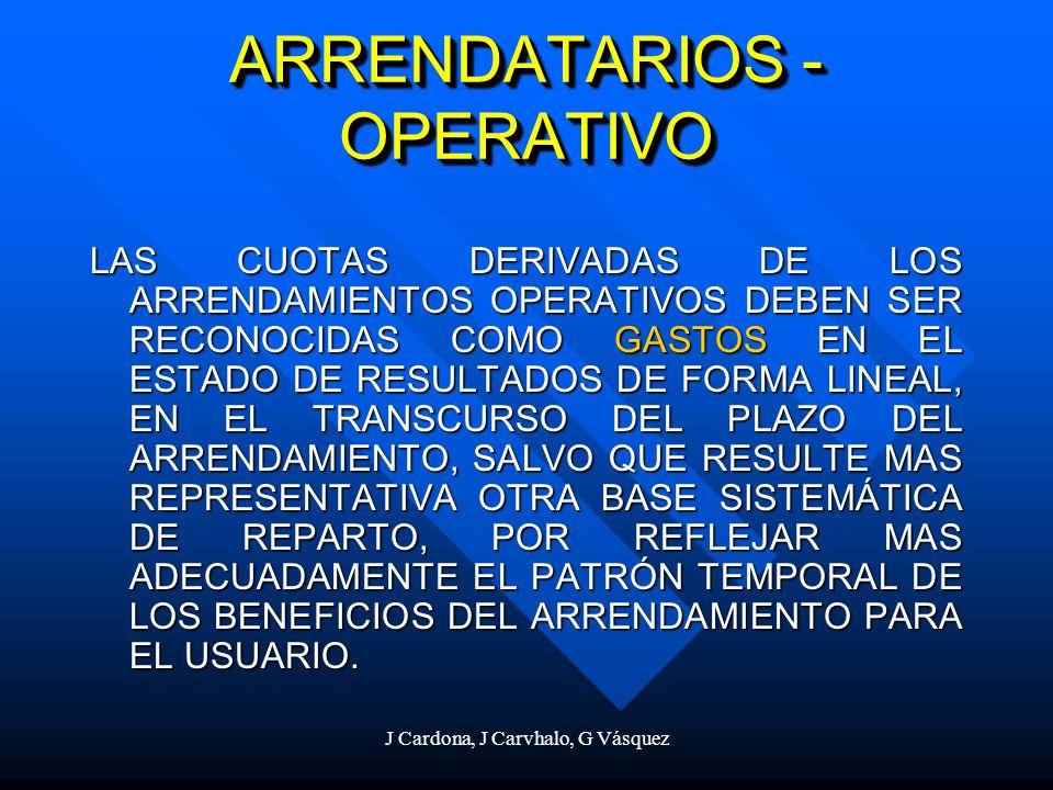 ARRENDATARIOS - OPERATIVO