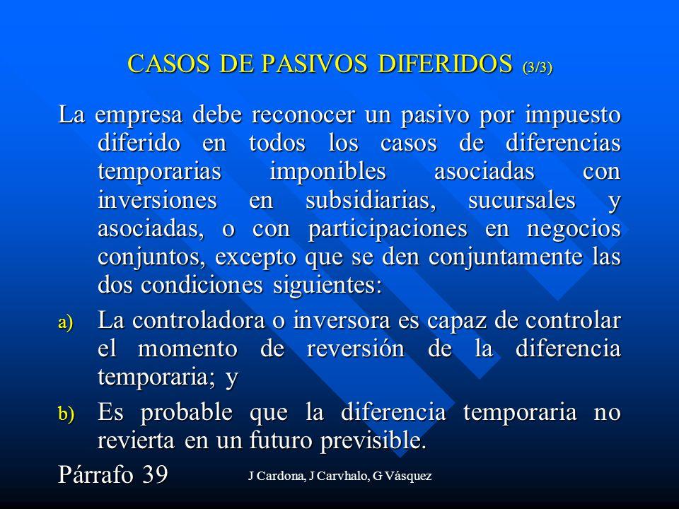 CASOS DE PASIVOS DIFERIDOS (3/3)