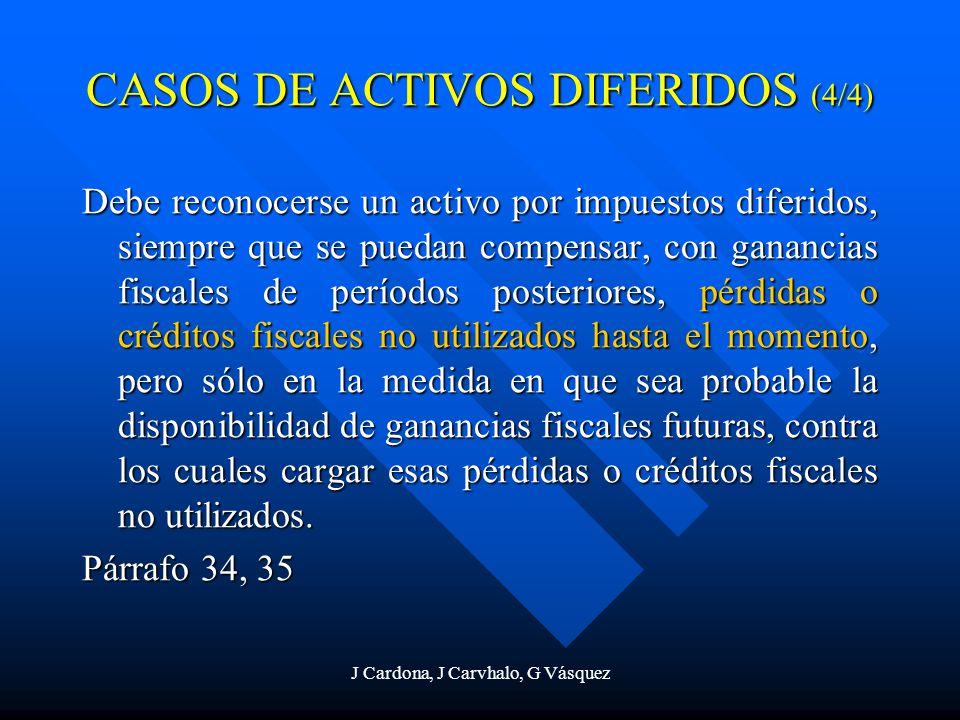 CASOS DE ACTIVOS DIFERIDOS (4/4)
