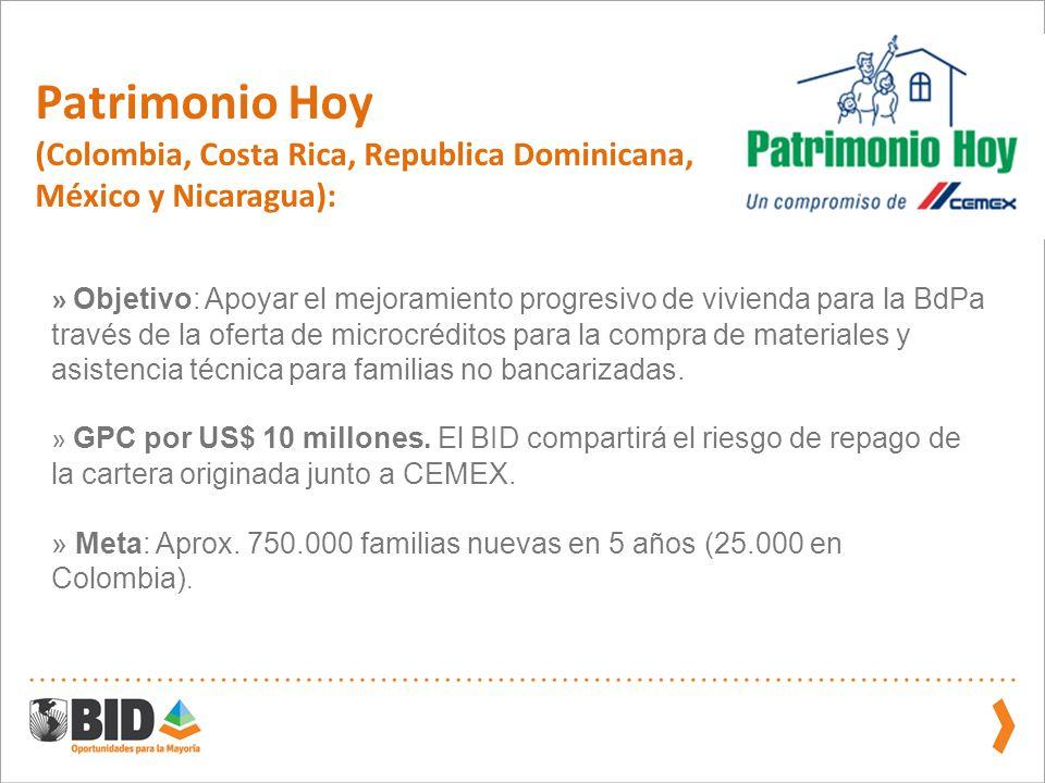 Patrimonio Hoy (Colombia, Costa Rica, Republica Dominicana,