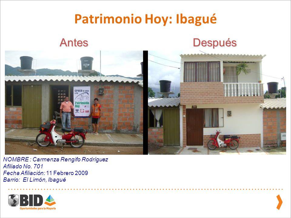 Patrimonio Hoy: Ibagué