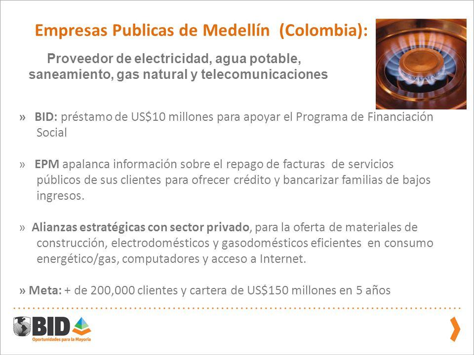 Empresas Publicas de Medellín (Colombia):