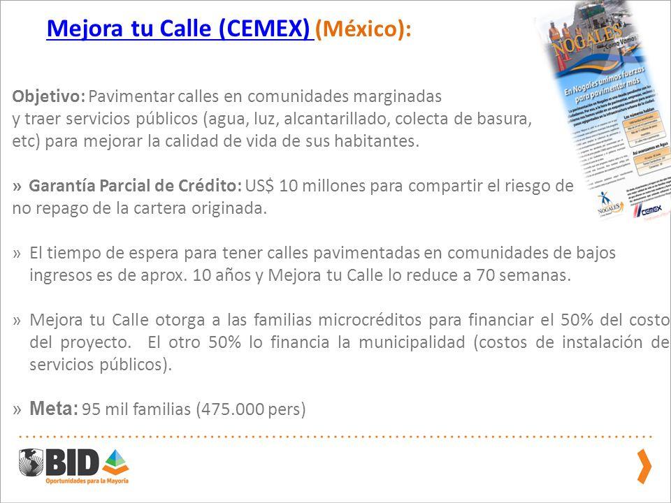 Mejora tu Calle (CEMEX) (México):