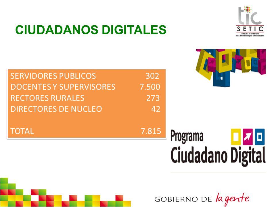 CIUDADANOS DIGITALES SERVIDORES PUBLICOS 302