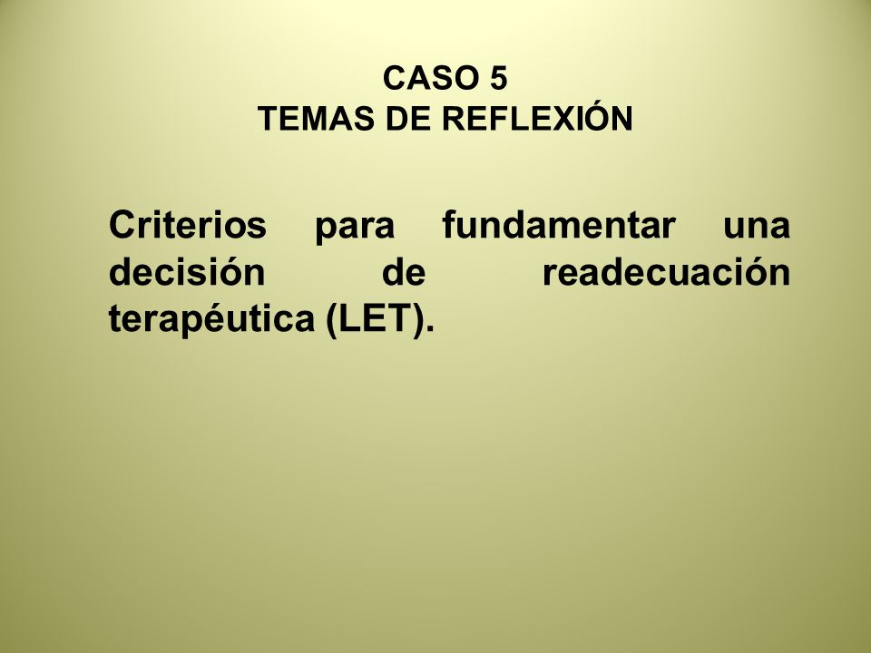 CASO 5 TEMAS DE REFLEXIÓN.