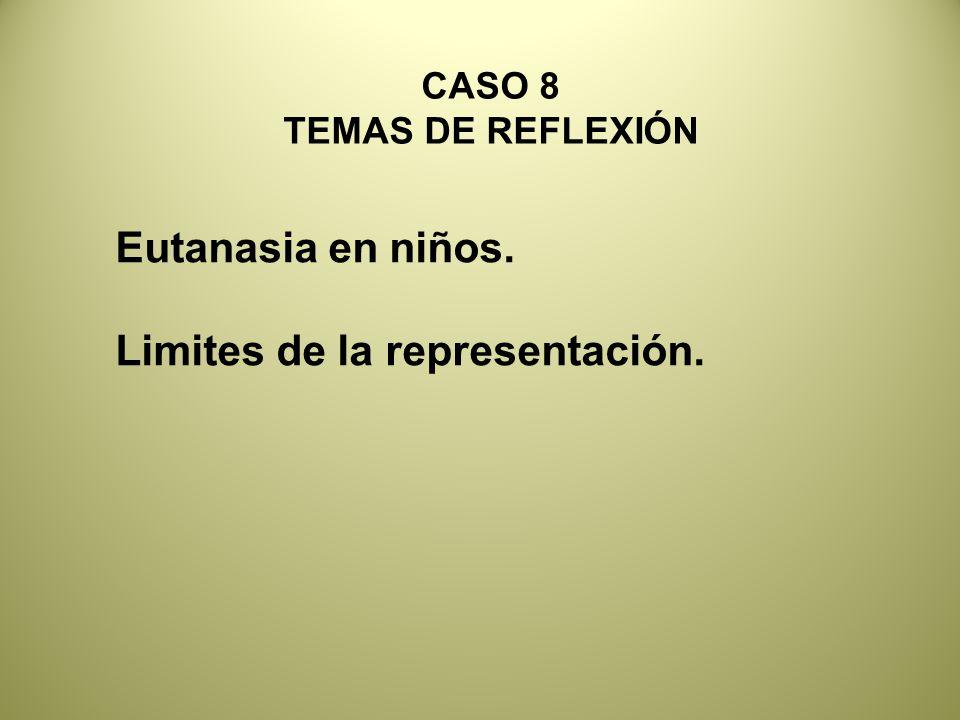 Limites de la representación.