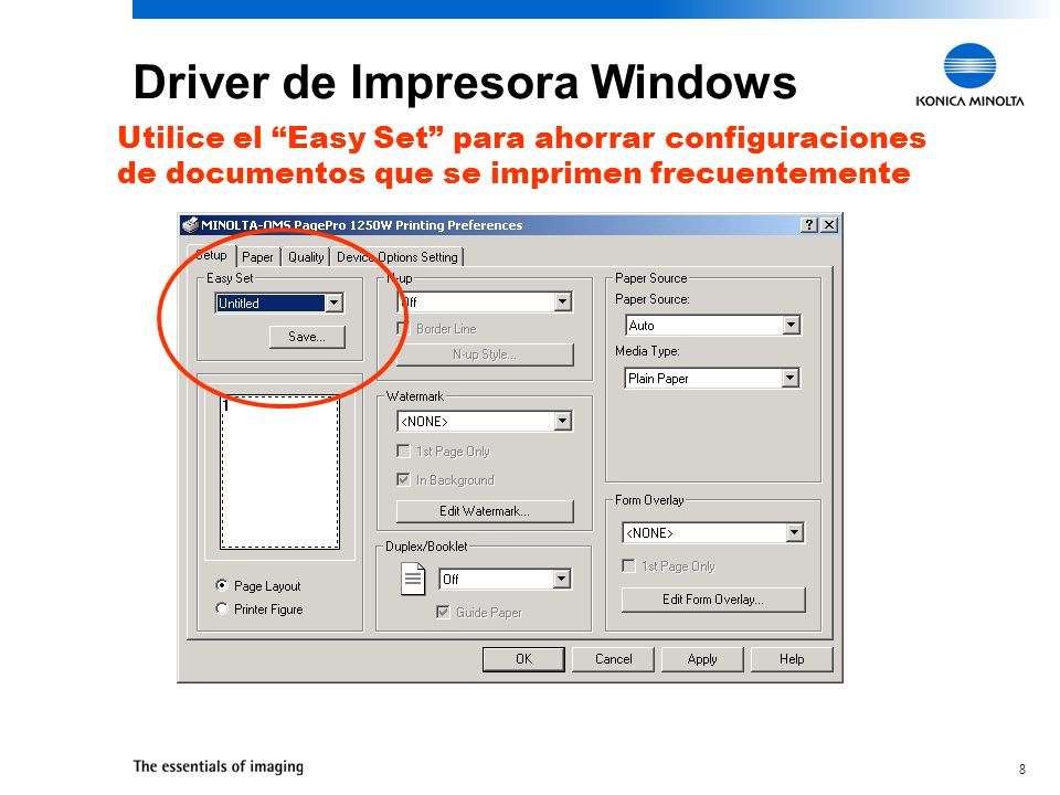 Driver de Impresora Windows