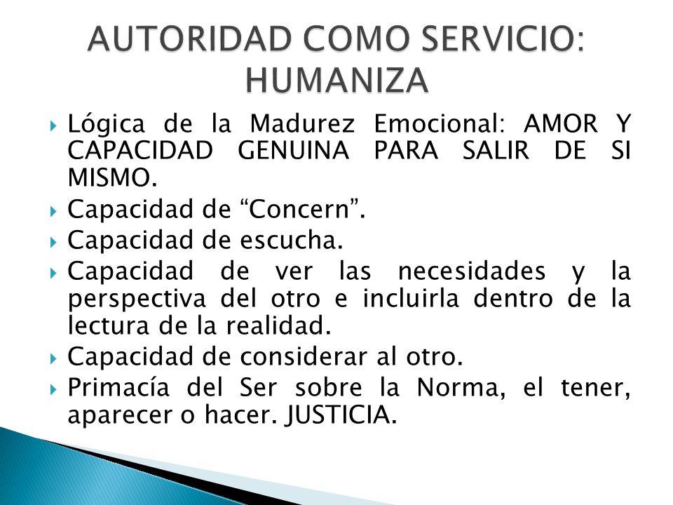 AUTORIDAD COMO SERVICIO: HUMANIZA