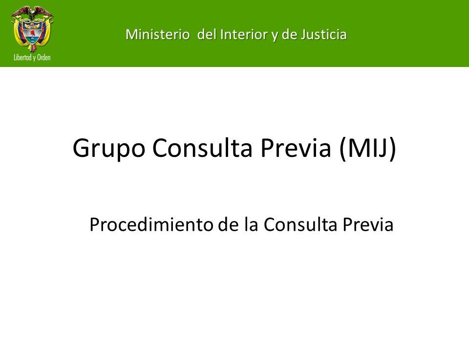 Grupo Consulta Previa (MIJ)