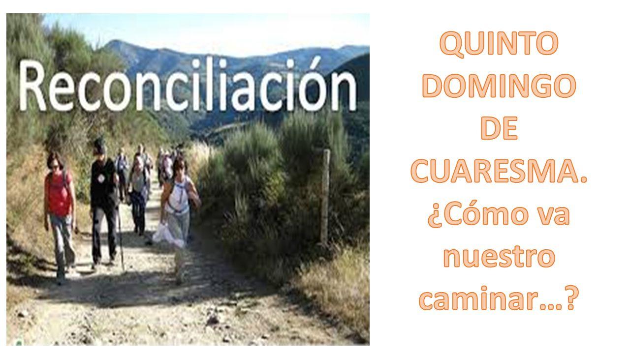 QUINTO DOMINGO DE CUARESMA. ¿Cómo va nuestro caminar…