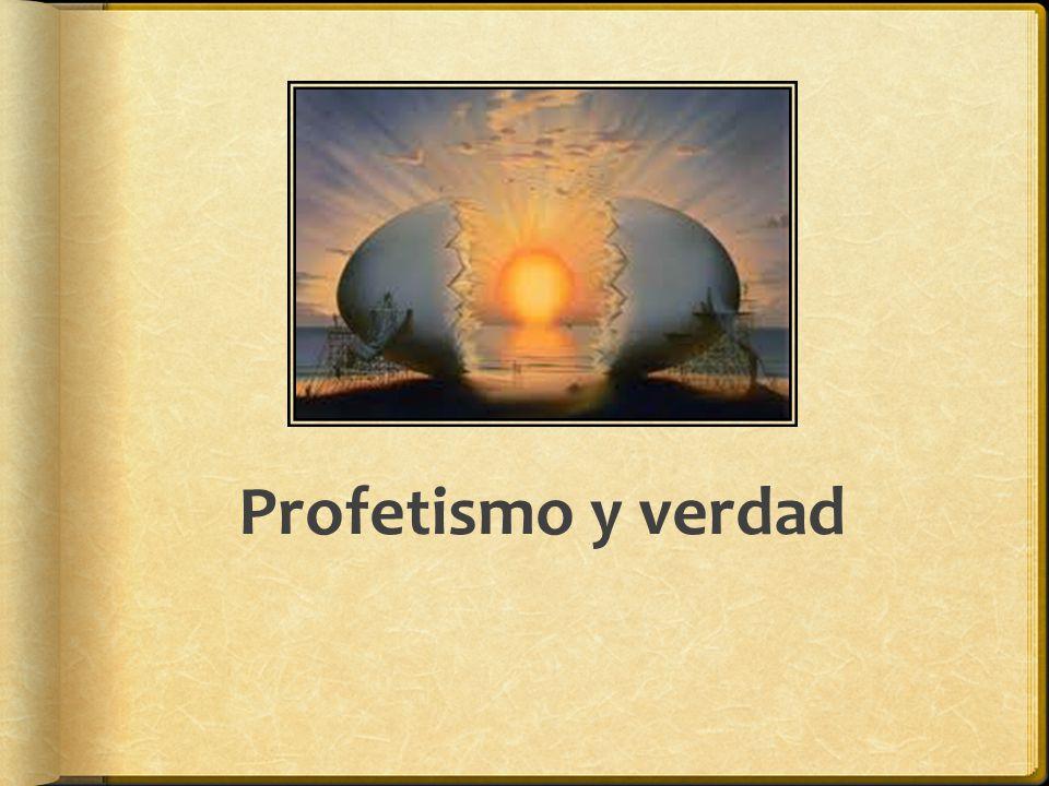 Profetismo y verdad