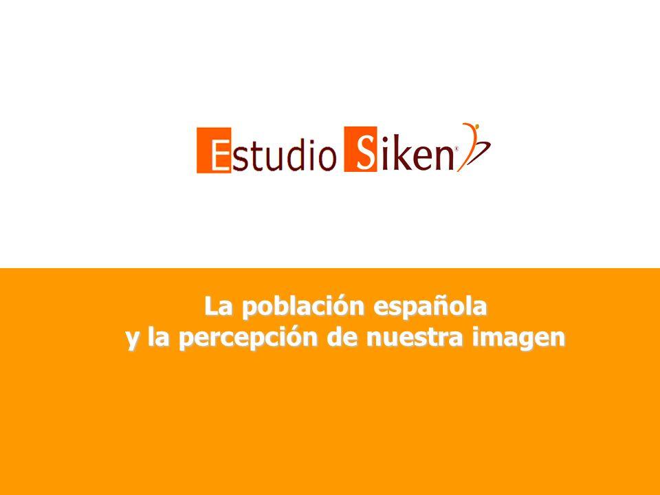 La población española y la percepción de nuestra imagen