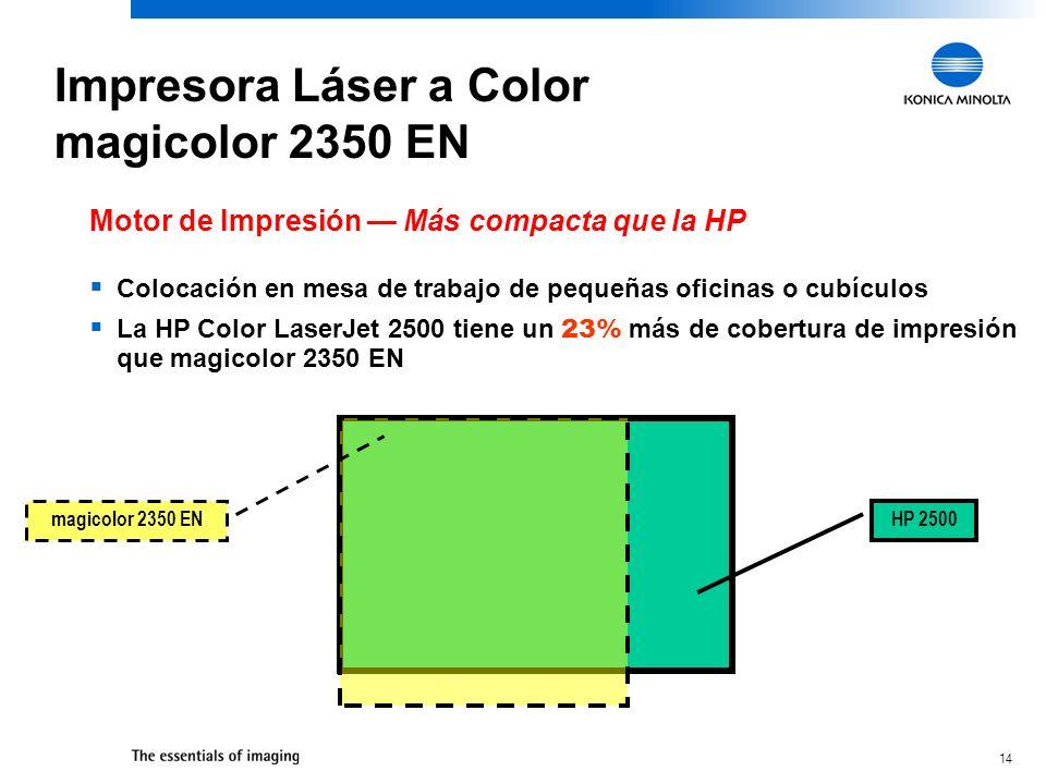 Impresora Láser a Color magicolor 2350 EN