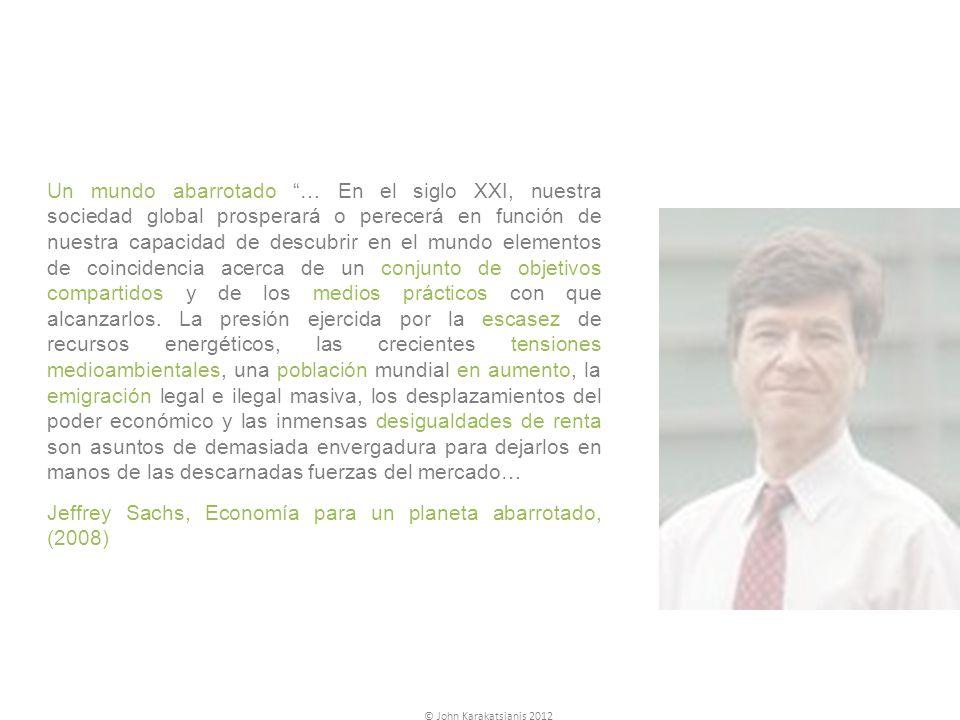 Jeffrey Sachs, Economía para un planeta abarrotado, (2008)