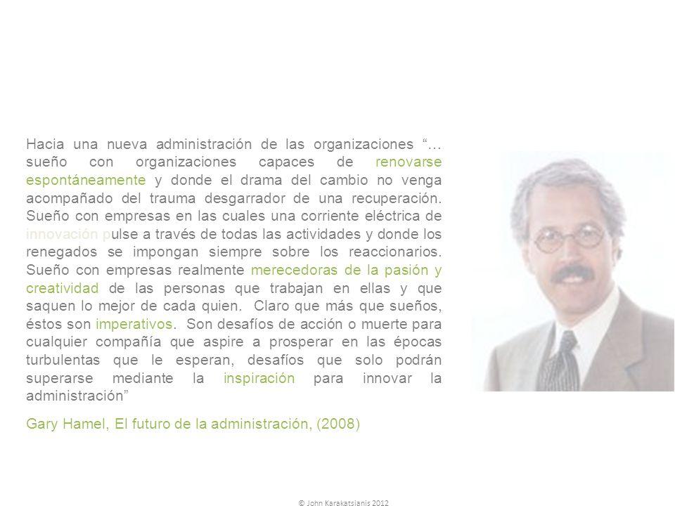 Gary Hamel, El futuro de la administración, (2008)