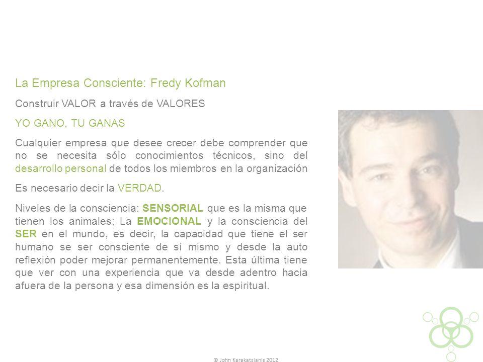 La Empresa Consciente: Fredy Kofman