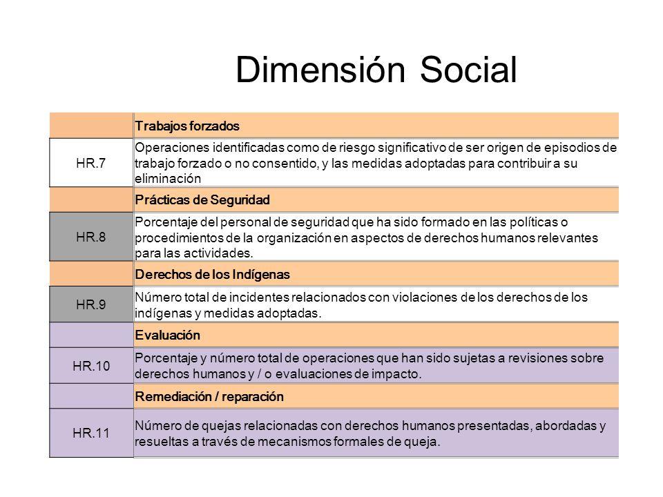 Dimensión Social Trabajos forzados HR.7