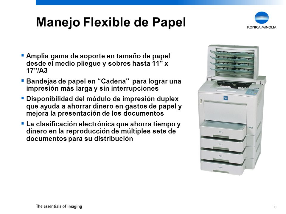 Manejo Flexible de Papel
