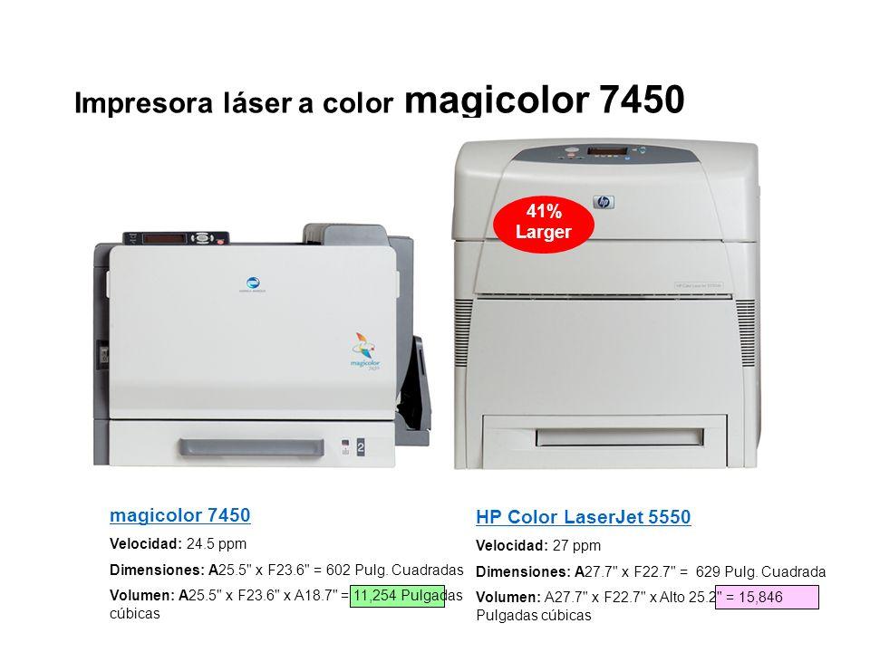 Impresora láser a color magicolor 7450